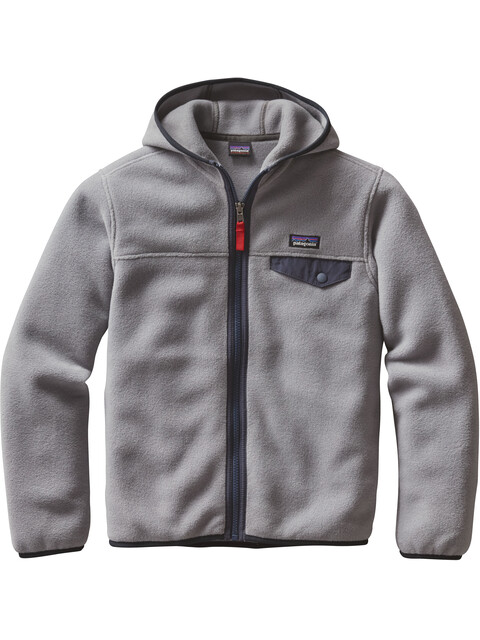 Patagonia Lightweight Synch Snap-T Hoody Boys Feather Grey